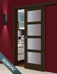 Drzwi przesuwne naścienne castorama